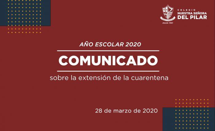 COMUNICADO EXTENSIÓN