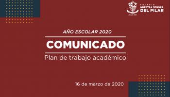 Plan de trabajo académico